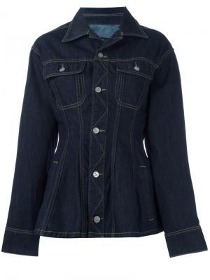 Джинсовая куртка кроя слим Vivienne Westwood Anglomania. Цвет: синий