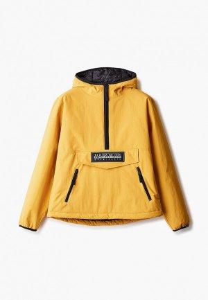Куртка утепленная Napapijri TAIKA. Цвет: желтый
