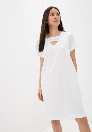 Платье Diesel. Цвет: белый