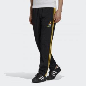 Брюки Simpsons Firebird Originals adidas. Цвет: черный