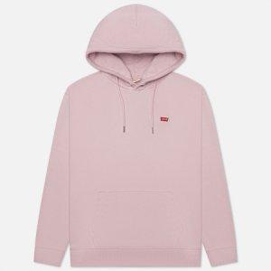 Женская толстовка Levis Standard Hoodie Levi's. Цвет: розовый