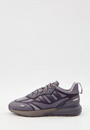 Кроссовки adidas Originals ZX 2K BOOST 2.0. Цвет: серый