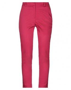 Повседневные брюки EMMA & GAIA. Цвет: фуксия