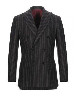 Пиджак ROYAL ROW. Цвет: темно-коричневый