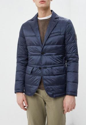 Куртка утепленная Strellson. Цвет: синий