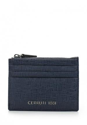 Визитница Cerruti 1881 CHESTER. Цвет: синий