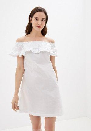 Платье Alcott. Цвет: белый