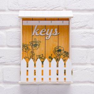 Ключница с полкой keys, 22,5 х 30,5 5,7 см Семейные традиции