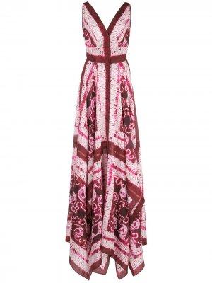 Платье Duel Altuzarra. Цвет: розовый