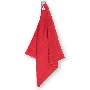 Полотенце LaRedoute. Цвет: красный
