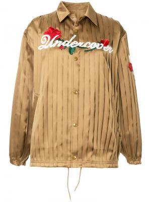 Куртка-бомбер с плиссировкой UNDERCOVER