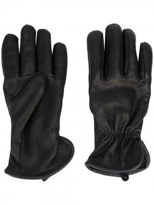 Кожаные перчатки Original Filson. Цвет: черный