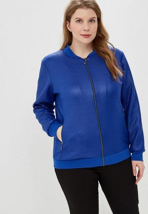 Олимпийка PreWoman Бомбер. Цвет: голубой