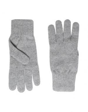 Перчатки 8 by YOOX. Цвет: светло-серый