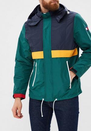 Куртка Tommy Hilfiger. Цвет: разноцветный