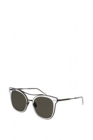 Очки солнцезащитные Bottega Veneta. Цвет: 004
