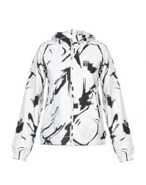 Куртка ADDICT. Цвет: белый