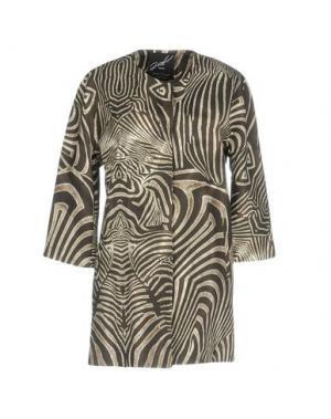 Легкое пальто G.SEL. Цвет: хаки