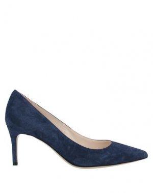 Туфли DEIMILLE. Цвет: синий