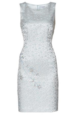 Платье Gina Bacconi. Цвет: голубой