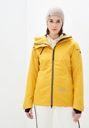 Куртка горнолыжная Brunotti. Цвет: желтый