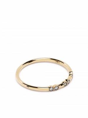 Кольцо Charnières из желтого золота с бриллиантами Yannis Sergakis. Цвет: золотистый