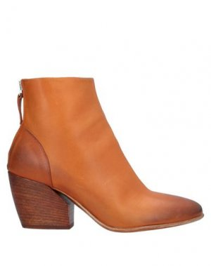 Полусапоги и высокие ботинки ERNESTO DOLANI. Цвет: желто-коричневый