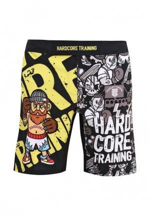 Шорты спортивные Hardcore Training Doodles shorts. Цвет: разноцветный