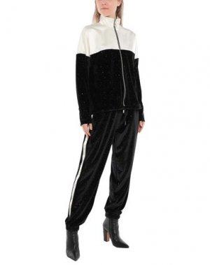 Спортивный костюм JIJIL. Цвет: черный