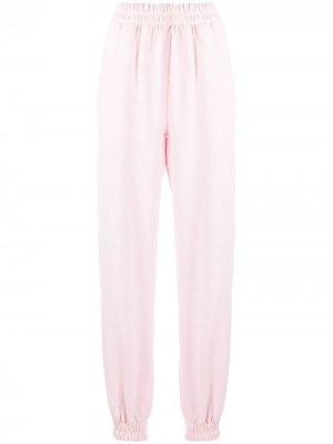 Спортивные брюки с лампасами Styland. Цвет: розовый