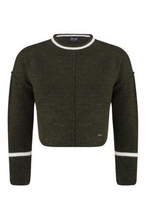 Пуловер FELIX HARDY. Цвет: green