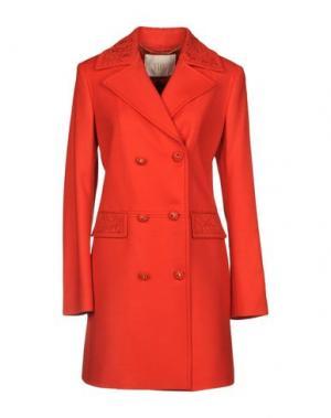 Пальто VDP COLLECTION. Цвет: красный
