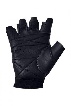 Перчатки для тренировок Under Armour. Цвет: черный