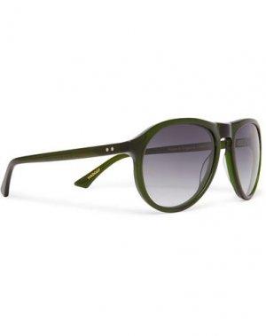 Солнечные очки KIRK ORIGINALS. Цвет: зеленый