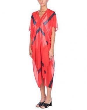 Пляжное платье CHRISTIES. Цвет: красный