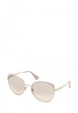 Очки солнцезащитные Prada PR 54SS UF53H2. Цвет: розовый
