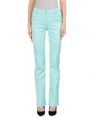 Повседневные брюки ANGELO MARANI. Цвет: светло-зеленый