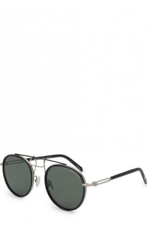 Солнцезащитные очки CALVIN KLEIN 205W39NYC. Цвет: черный