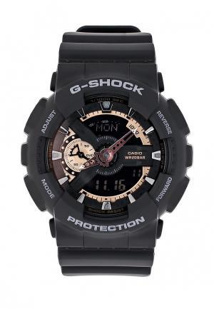 Часы Casio G-SHOCK GA-110RG-1A. Цвет: черный