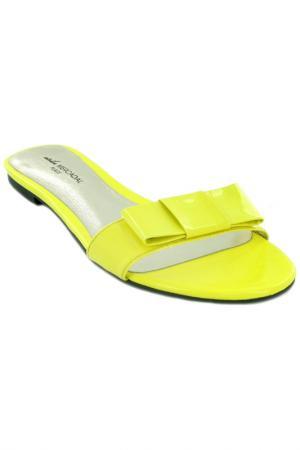 Сабо Atelier Mercadal. Цвет: желтый