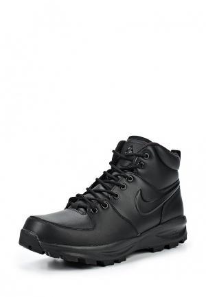 Ботинки Nike Mens Manoa Leather Boot. Цвет: черный
