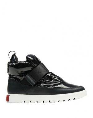 Высокие кеды и кроссовки SOREL. Цвет: черный