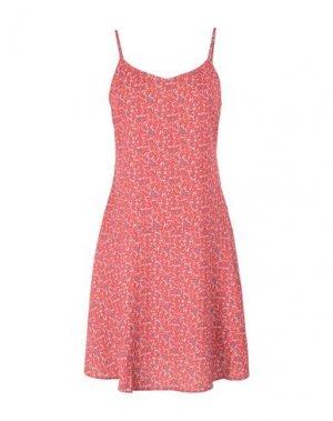Короткое платье 2ND DAY. Цвет: коралловый