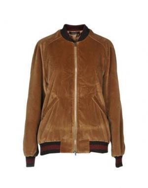 Куртка ROBERTO COLLINA. Цвет: верблюжий