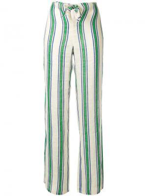 Пляжные брюки с полосками Tory Burch
