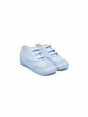 Туфли на шнуровке Andrea Montelpare. Цвет: синий