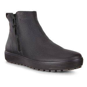 Ботинки SOFT 7 TRED ECCO. Цвет: черный