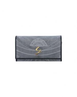 Бумажник GATTINONI. Цвет: свинцово-серый