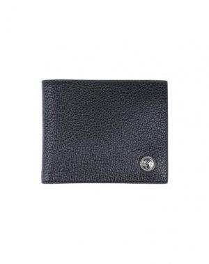 Бумажник ROBERTO CAVALLI. Цвет: черный