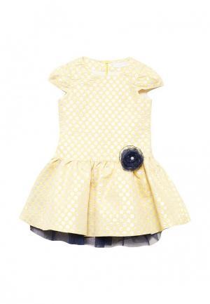 Платье Letty. Цвет: желтый